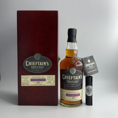 Springbank Chieftains Bottling Cask 1414 40 Year Old 1968